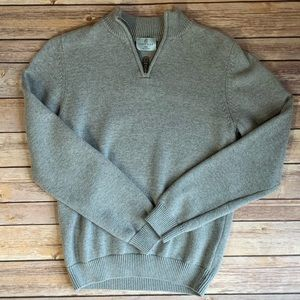 BOYS CLASSIC CLUB GRAY PULLOVER SWEATER SIZE 14/16